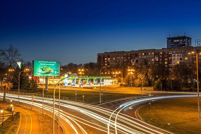Reklama zewnętrzna w mieście