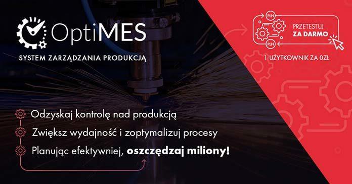 Wsparcie dla zarządzania produkcją – system OptiMES